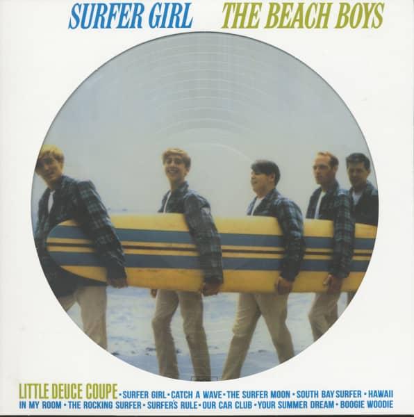 Surfer Girl (Picture-LP, 180g Vinyl)