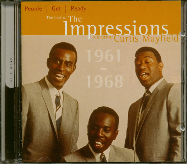 The Best Of The Impressions Featuring Curtis Mayfield (CD)
