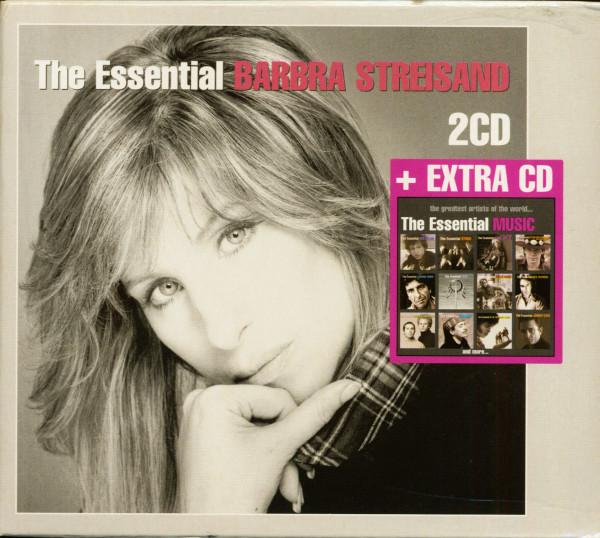 The Essential Barbra Streisand, plus extra CD (3-CD, Ltd.)