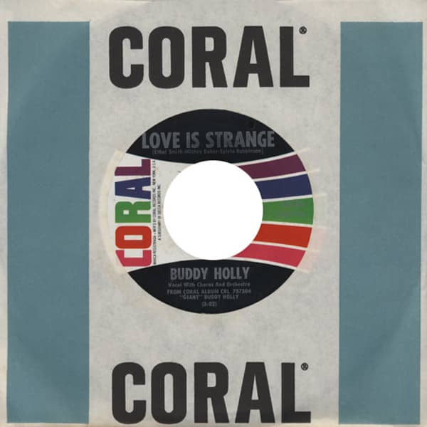 Love Is Strange - You're... 7inch, 45rpm, CS (Cut Out)
