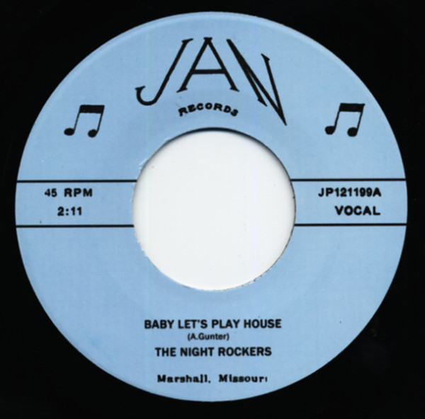 Baby Let's Play House - E-String Boogie 7inch, 45rpm