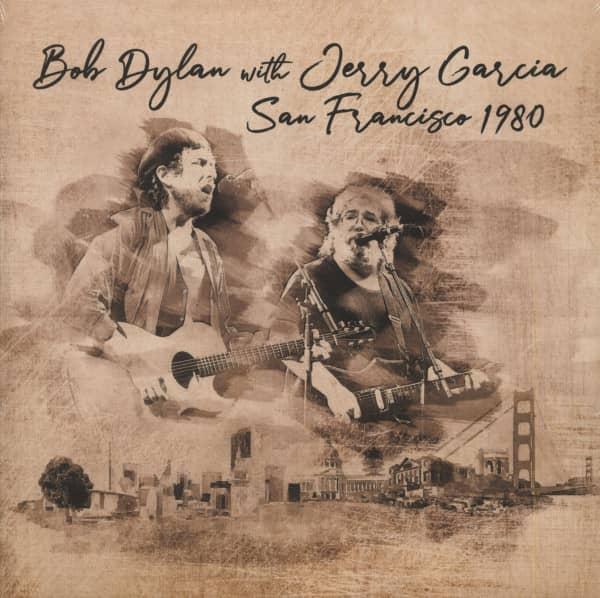 Bob Dylan With Jerry Garcia - San Francisco 1980 (2-LP, 180g Vinyl)