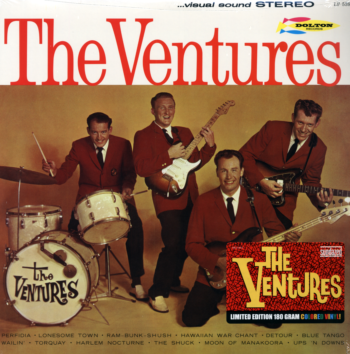 The Ventures Lp The Ventures 1961 180g Limited Edition