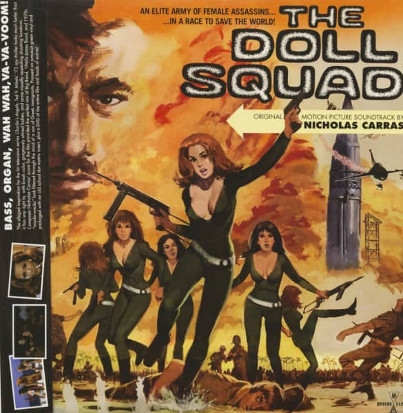 The Doll Squad - Soundtrack (LP & DVD, Colored Vinyl)