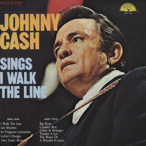 Johnny Cash Sings I Walk The Line (LP)