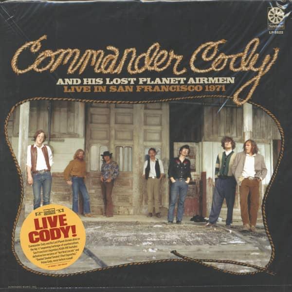Live In San Francisco 1971 (180 Gram Translucent Gold Vinyl)