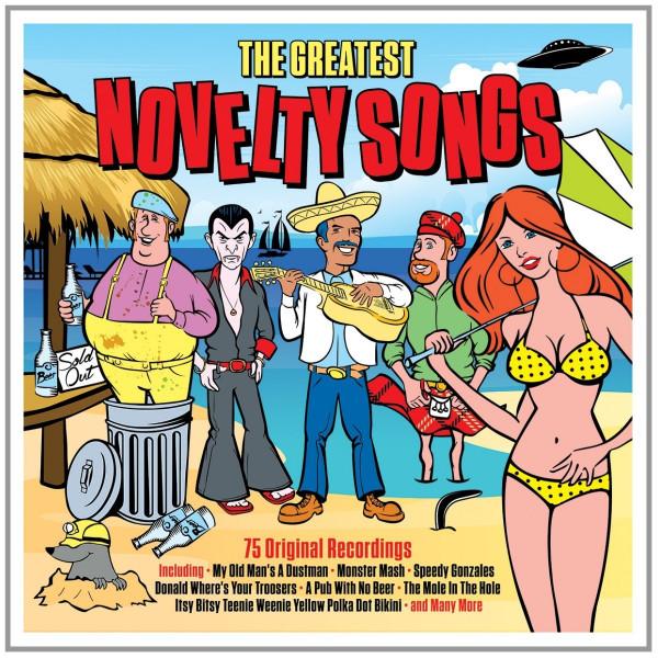 Greatest Novelty Songs (3-CD)