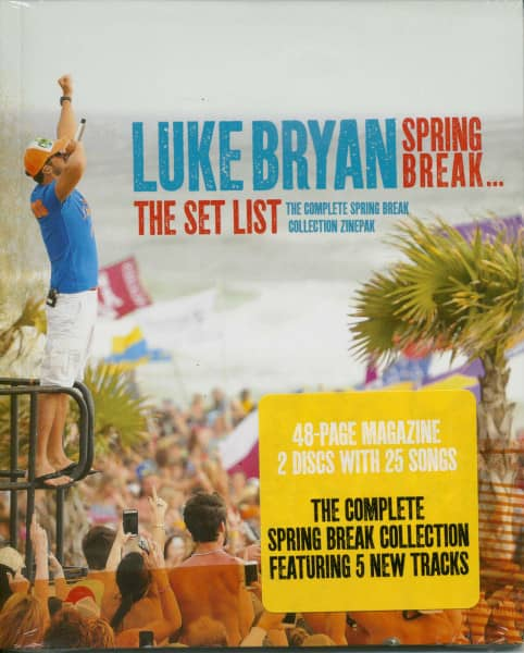 Spring Break: The Set List Zinepack (2-CD & Magazin)