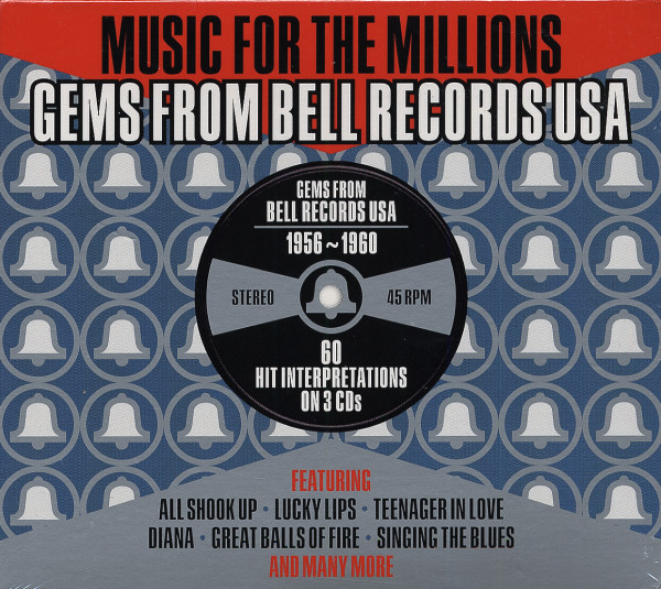 Music For The Millions: Gems From Bell Records USA (3-CD)
