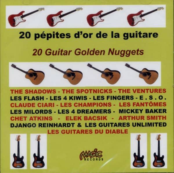 20 Pepites D'Or De La Guitare
