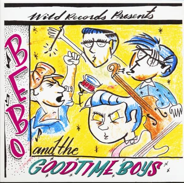 Bebo And The Goodtime Boys (CD)