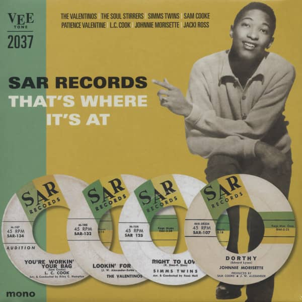 Sar Records - That's Where It's At (25cm LP) Limited Edition