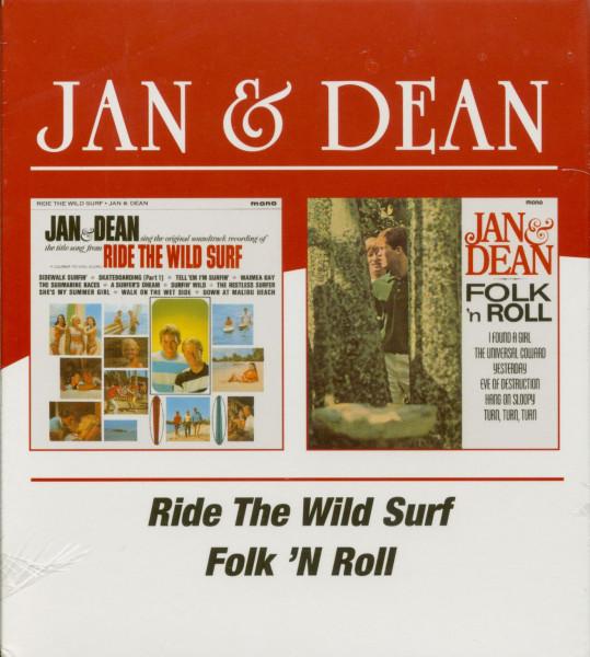 Ride The Wild Surf - Folk'n'Roll (CD)