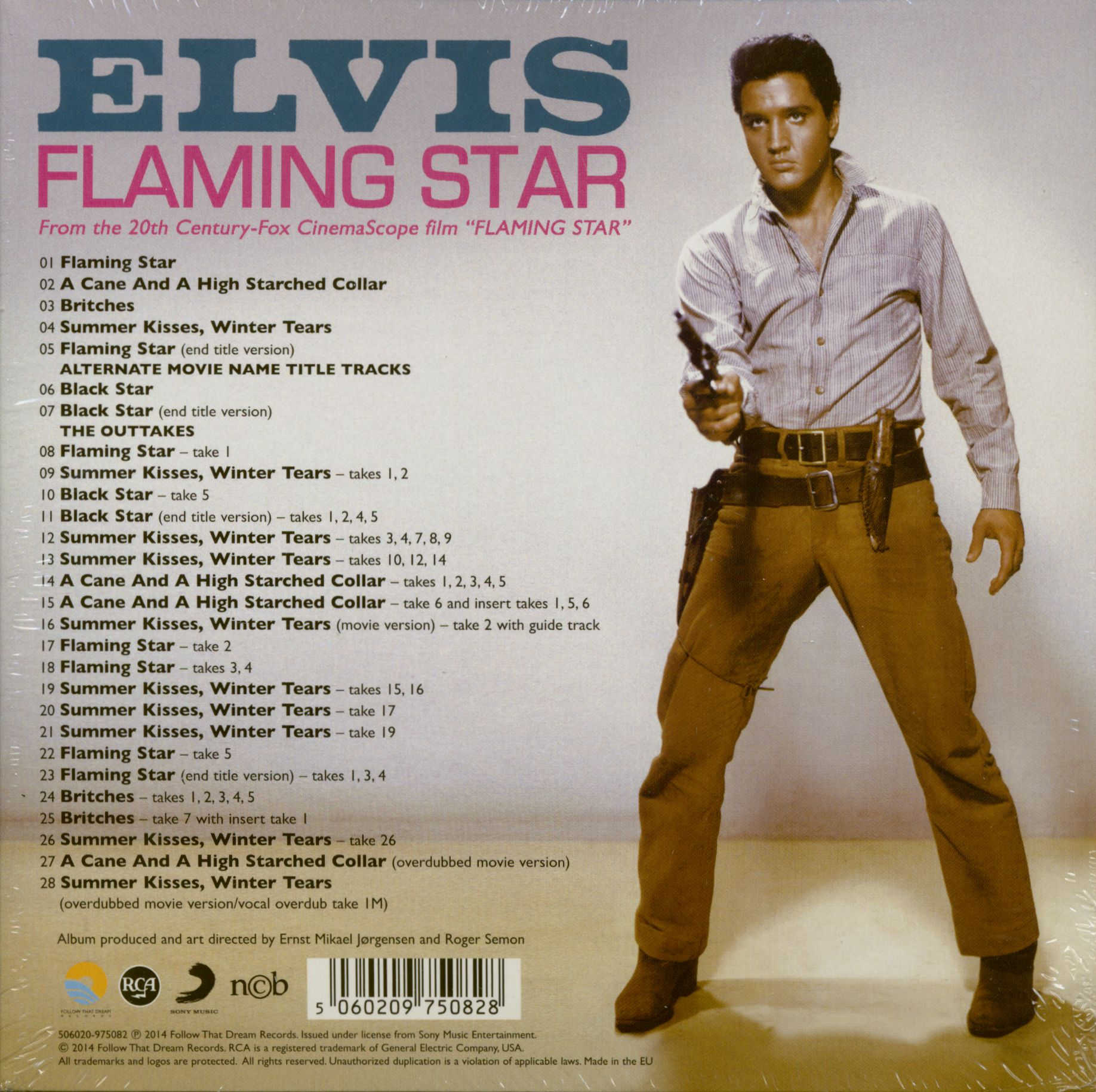Elvis Presley Cd Flaming Star Cd 7inch Deluxe Packaging