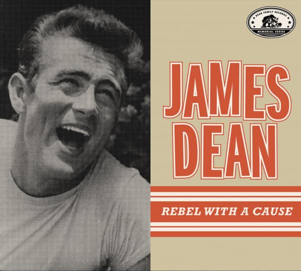James Dean - Rebel With A Cause (CD)