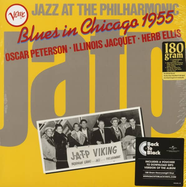 Jazz At The Philharmonic - Blues In Chicago 1955 (LP, 180g Vinyl & Download)