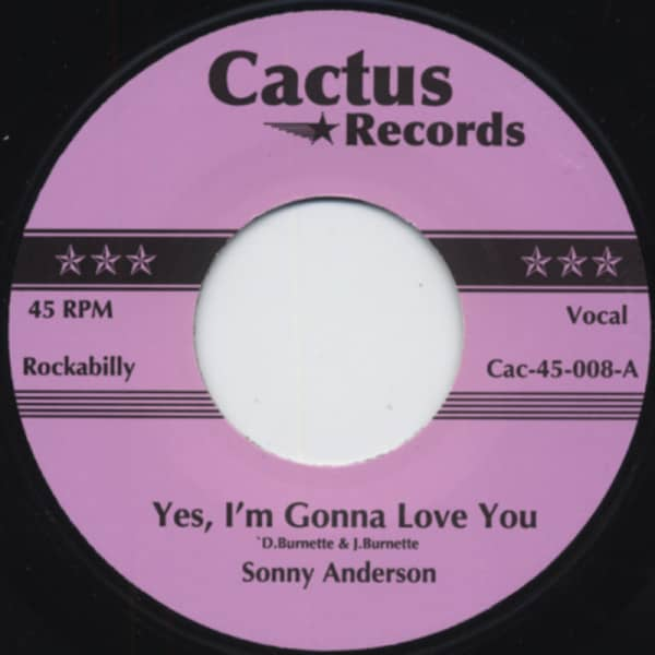 Yes, I'm Gonna Love You - Wolf Boy 7inch, 45rpm