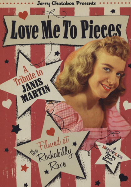 Love Me To Pieces - A Tribute To Janis Martin (DVD)