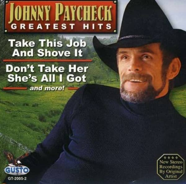 Johnny Paycheck Cd Greatest Hits Bear Family Records