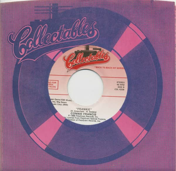 My Heart Has A Mind Of Its Own - Frankie (7inch, 45rpm, BC, CS)