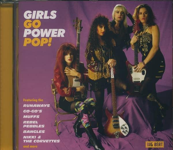 Girls Go Power Pop! (CD)