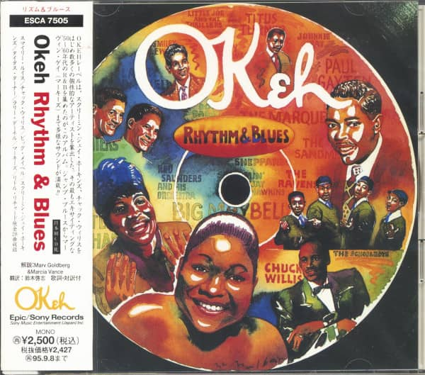 OKeh Rhythm & Blues (CD, Japan)
