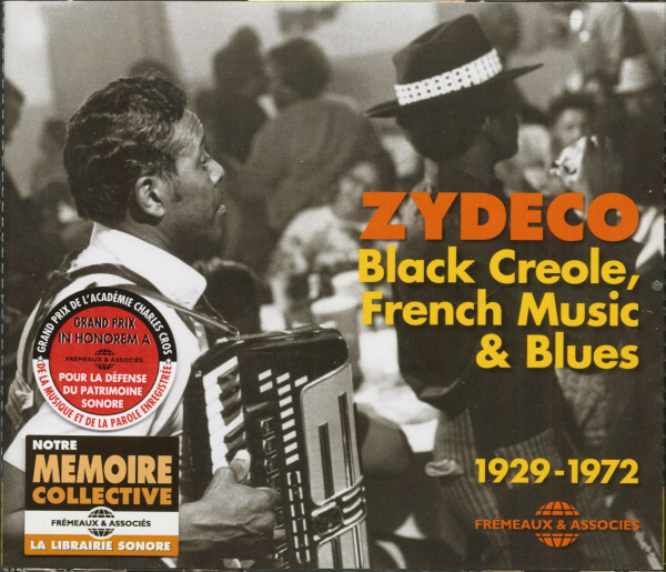 Zydeco - Black Creole, French Music & Blues, 1929-1972 (2-CD)