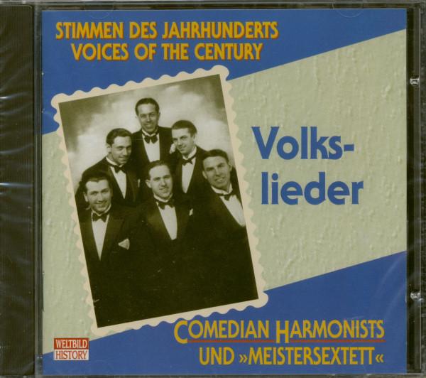 Stimmen Des Jahrhunderts - Volkslieder (CD)