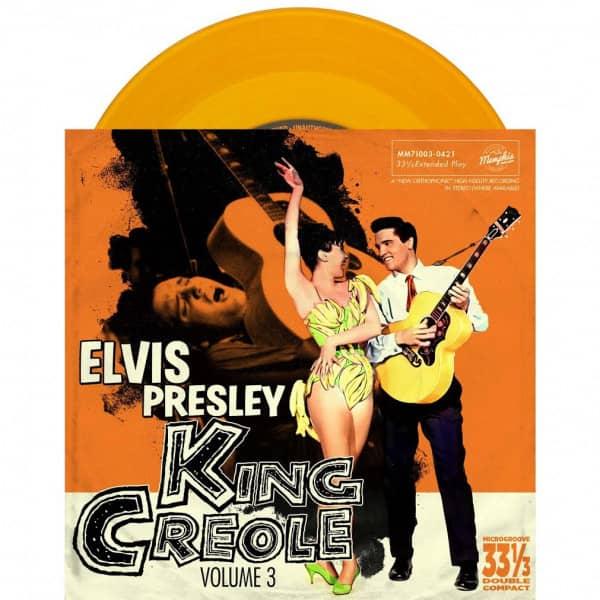 King Creole Vol.3 (7inch EP, 33rpm, PS, SC, Ltd.)