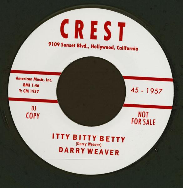 Itty Bitty Betty - Edge Of Town (7inch, 45rpm)