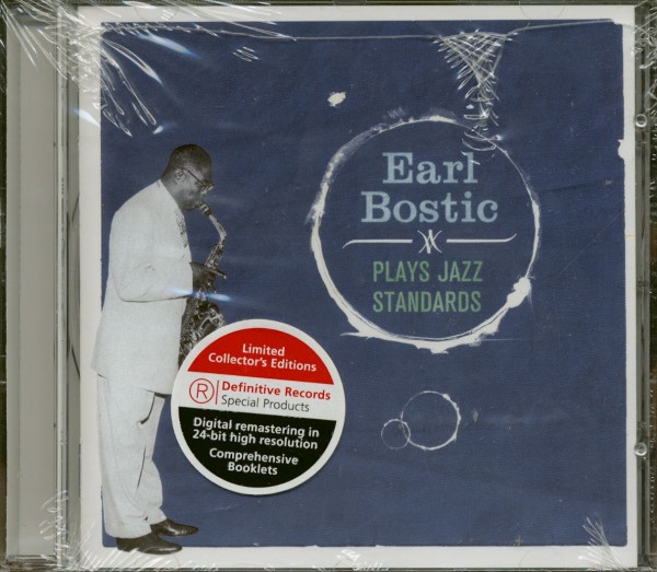 Earl Bostic Plays Jazz Standards (CD)