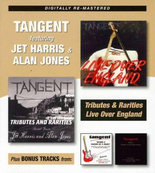 Tributes & Rarities - Live Over England + Bonus Tracks (2-CD)
