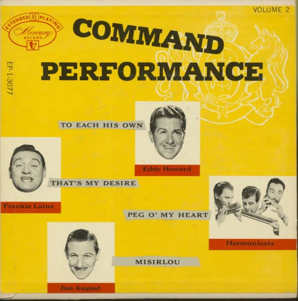 Command Performance, Vol.2 (7inch, 45rpm, EP, PS)