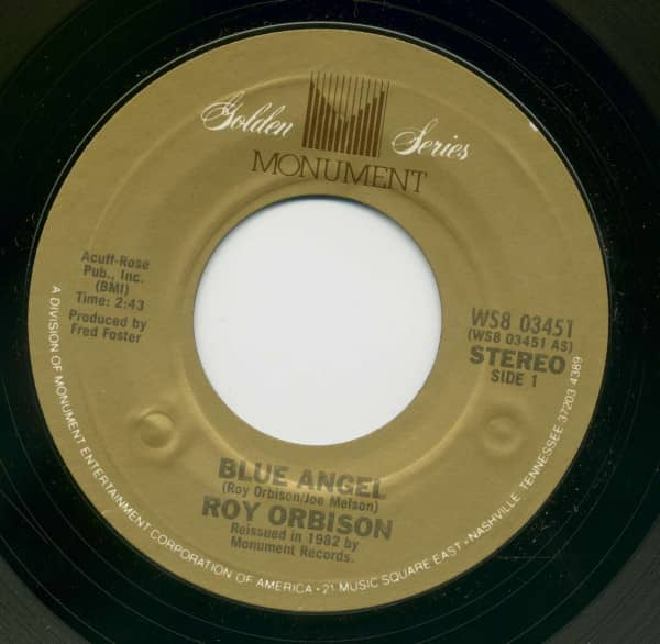 Blue Angel - Paper Boy (7inch, 45rpm, BC)