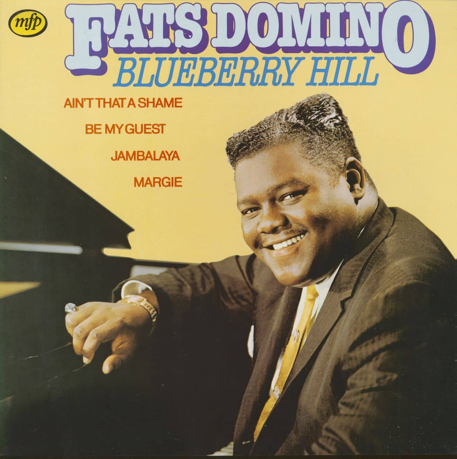 Fats Domino Lp Blueberry Hill Lp Bear Family Records