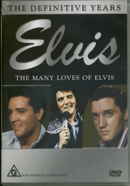 Elvis - The Many Loves Of Elvis & The Intimate Loves Of Elvis (DVD)