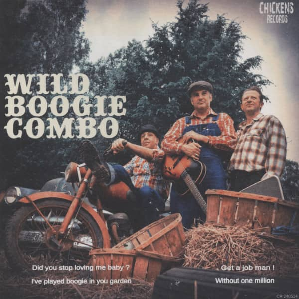 Wild Boogie Combo 7inch, 45rpm, EP, PS
