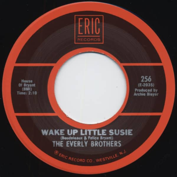Wake Up Little Susie - Poor Jenny 7inch, 45rpm