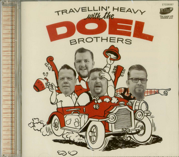 Travellin' Heavy With The Doel Brothers (CD)