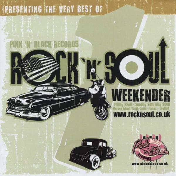 Rock & Soul Weekender - Pink And Black