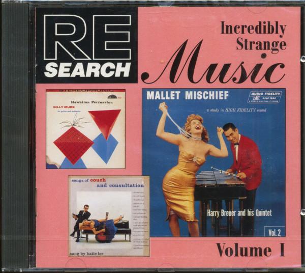 Re-Search - Incredibly Strange Music Vol.1 (CD)
