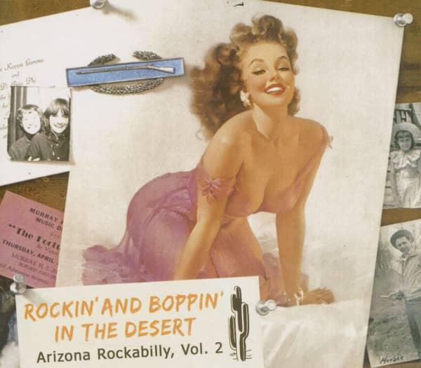 Rockin' And Boppin' In The Desert - Arizona Rockabilly - Vol.2 (CD)
