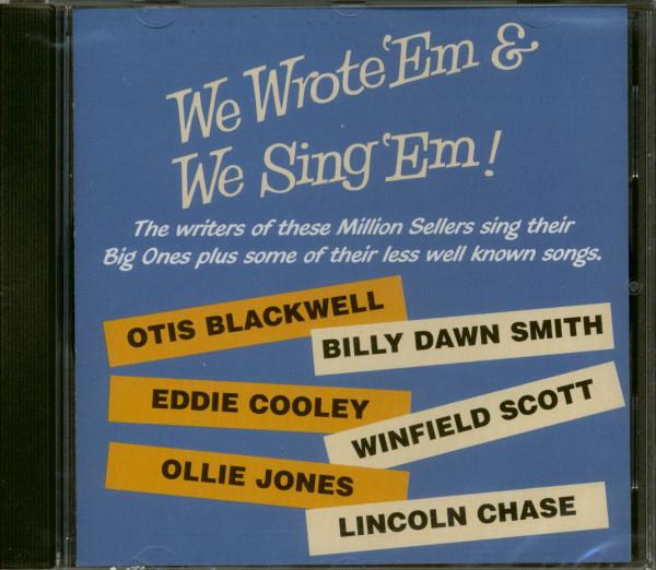 We Wrote 'Em & We Sing 'Em (CD)