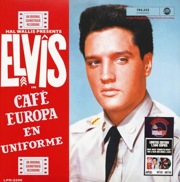 Cafe Europa En Uniforme - G.I. Blues (2-LP, Multicolor Vinyl, Ltd.)