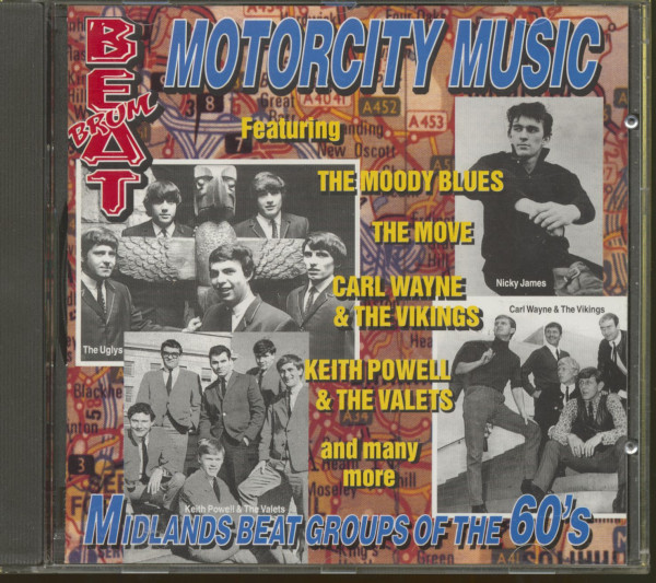 Brumbeat - Motorcity Music (CD)