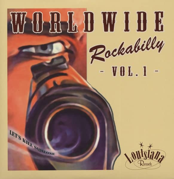 Worldwide Rockabilly Vol.1 (2x10'LP) HQ Vinyl
