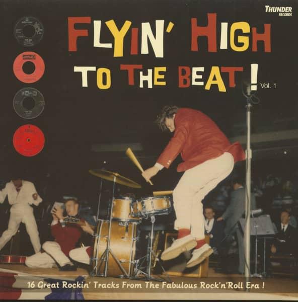 Flyin' High To The Beat (LP, Ltd.)