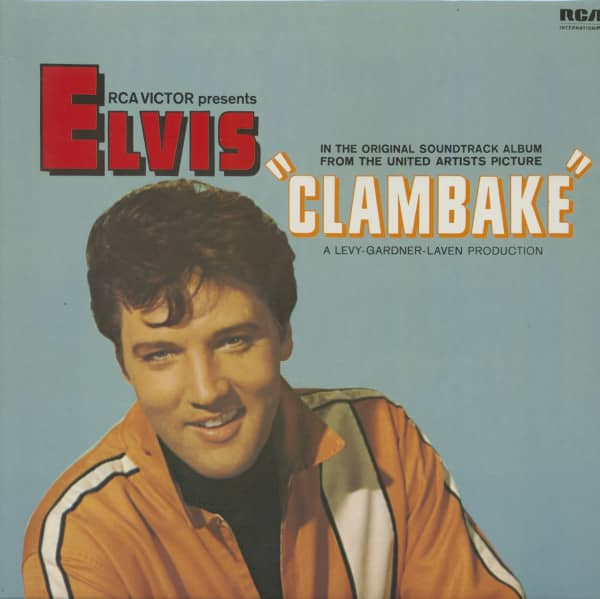 Elvis In 'Clambake' plus ... - Original Soundtrack - 1977 (LP)
