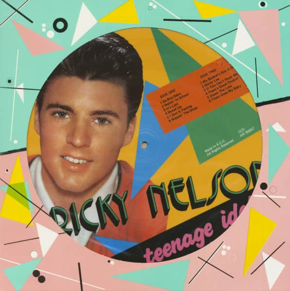 A Teenage Idol (LP, Picture Disc)