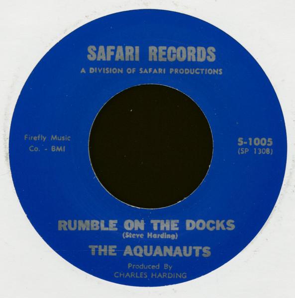Bombora - Rumble On The Docks (7inch, 45rpm)